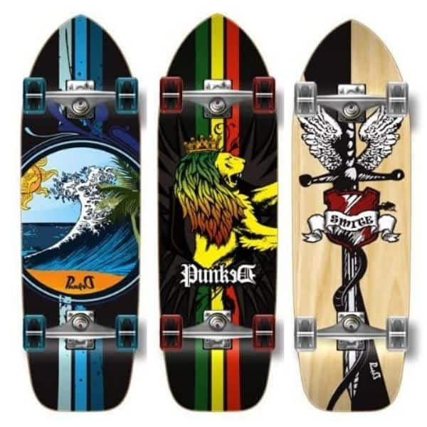 Yocaher Graphic Old School Skateboard
