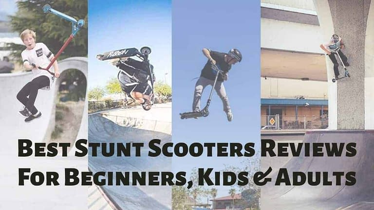 the Best Stunt Scooters Reviews For Beginners, Kids and Adults