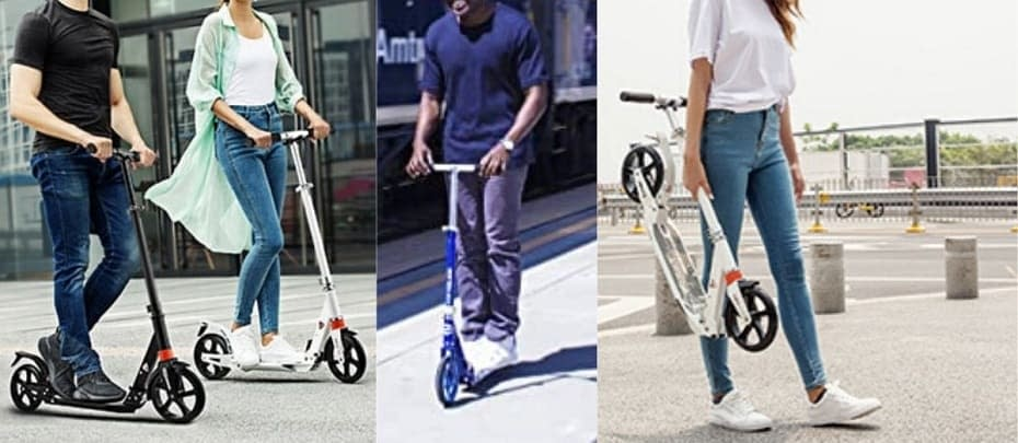 best kick scooters for heavy adults