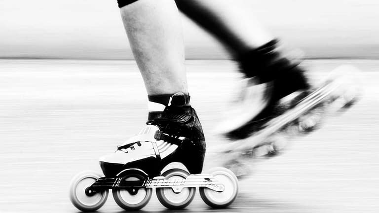 how to stop on inline speed skates