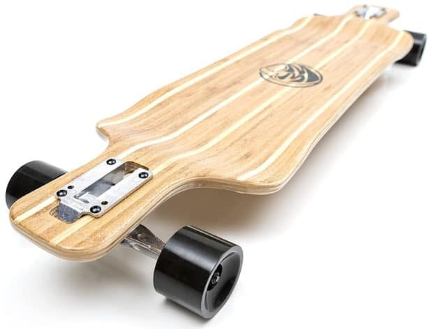 The White Wave Bamboo Longboard Review (The Pintail) 1