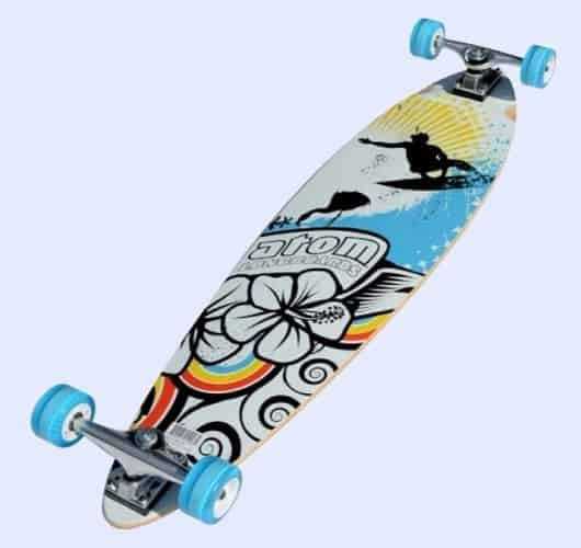 the Atom pintail lonboard 39inch