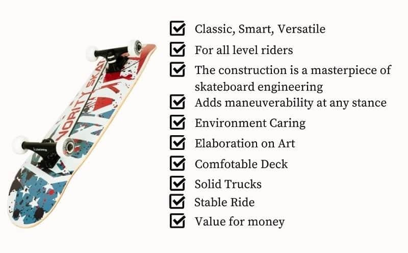 The best rated skateboards for you