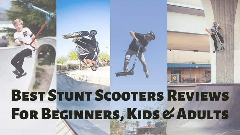 Best Stunt Scooters Reviews For Beginners, Kids and Adults
